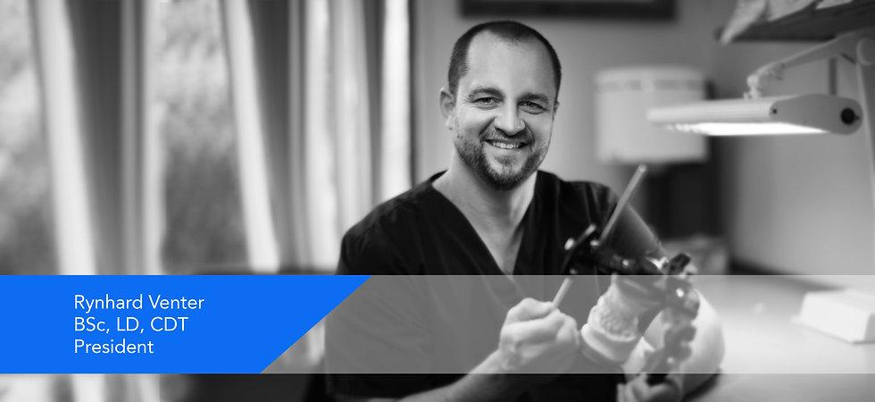 Rynhard Venter, archworks dental owner