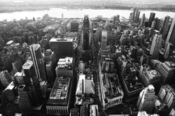 NYC , aerial view, travel