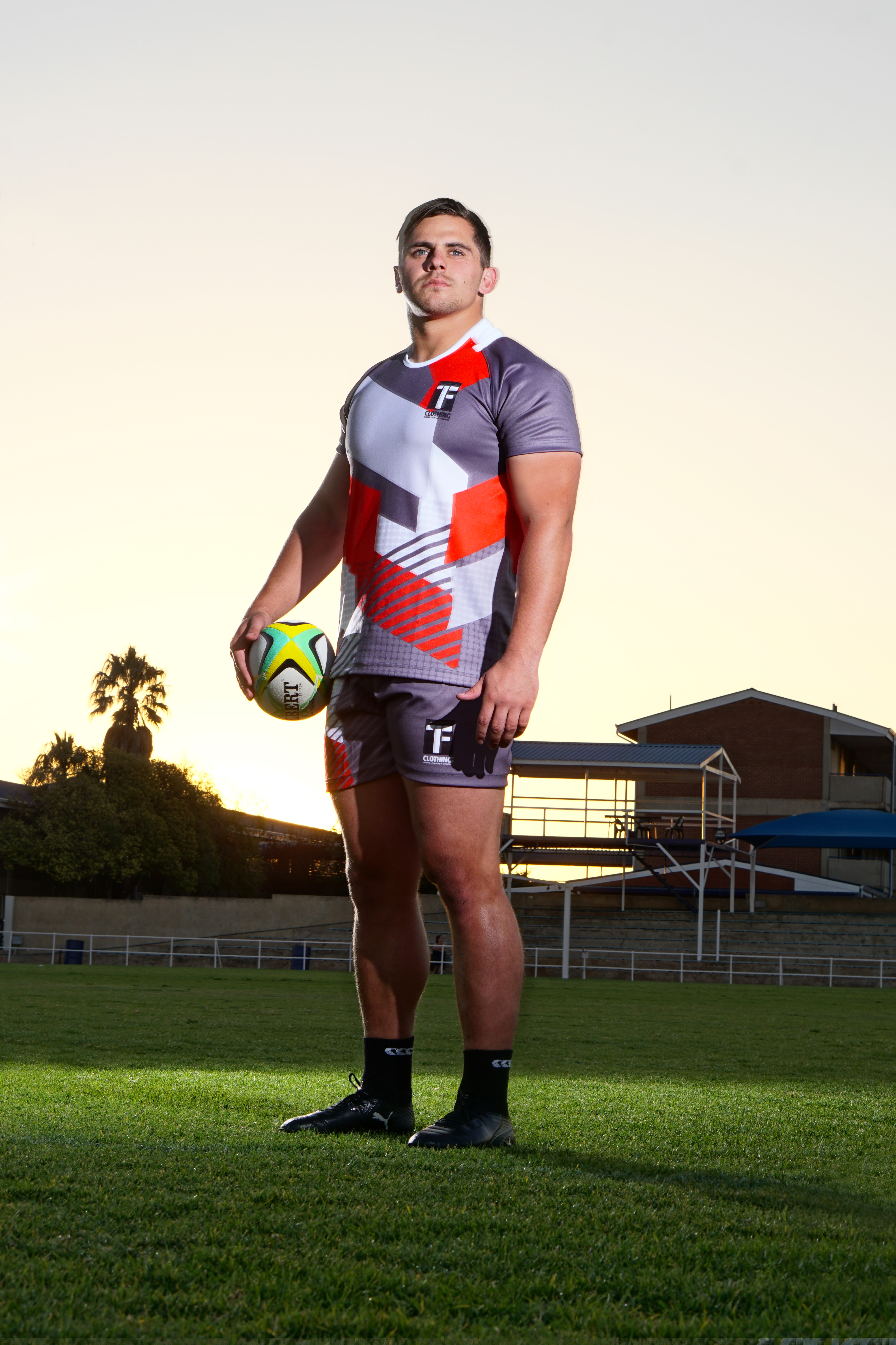 Portrait, Rugby player , SA