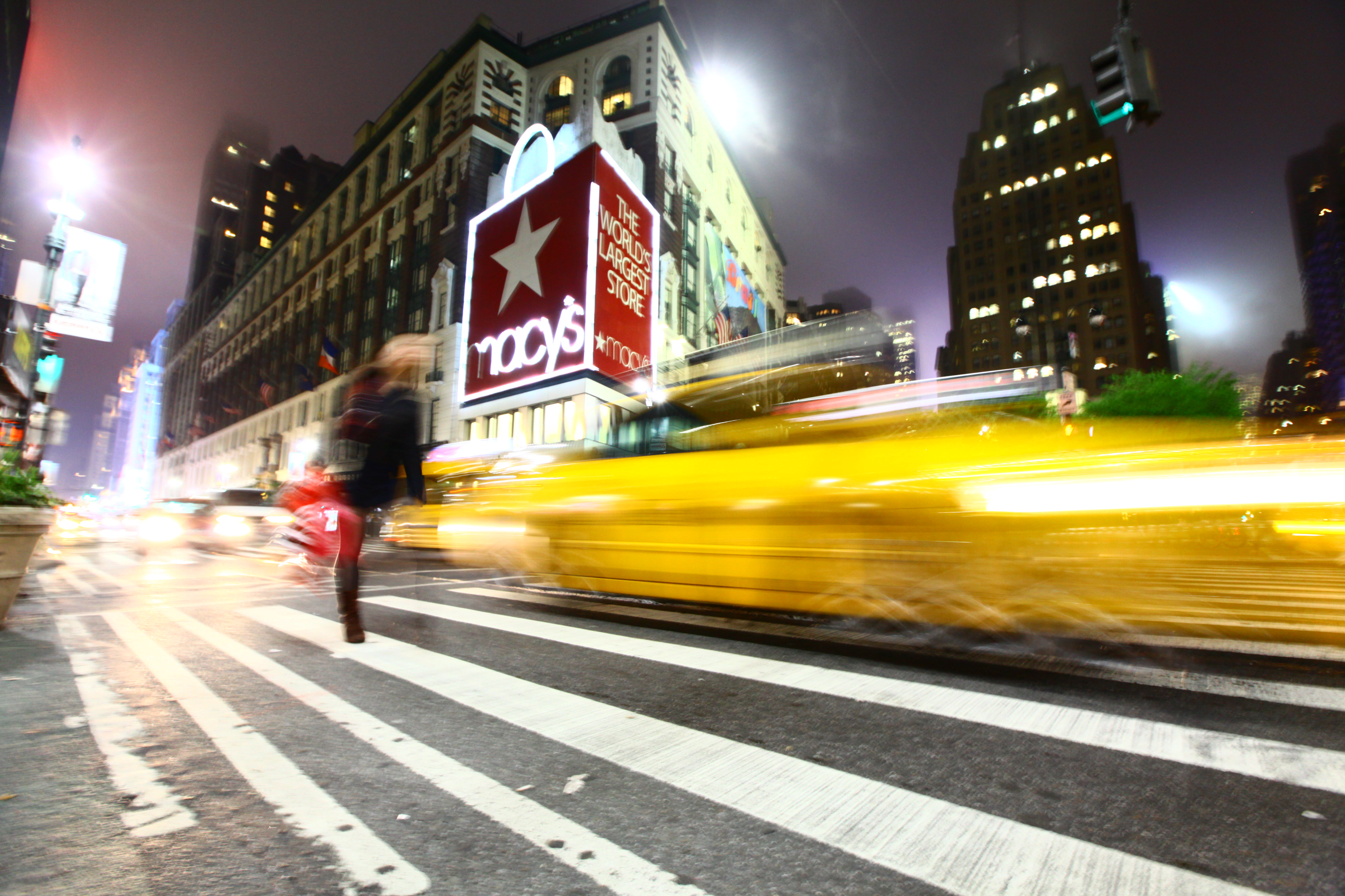 Macy's, color, movement