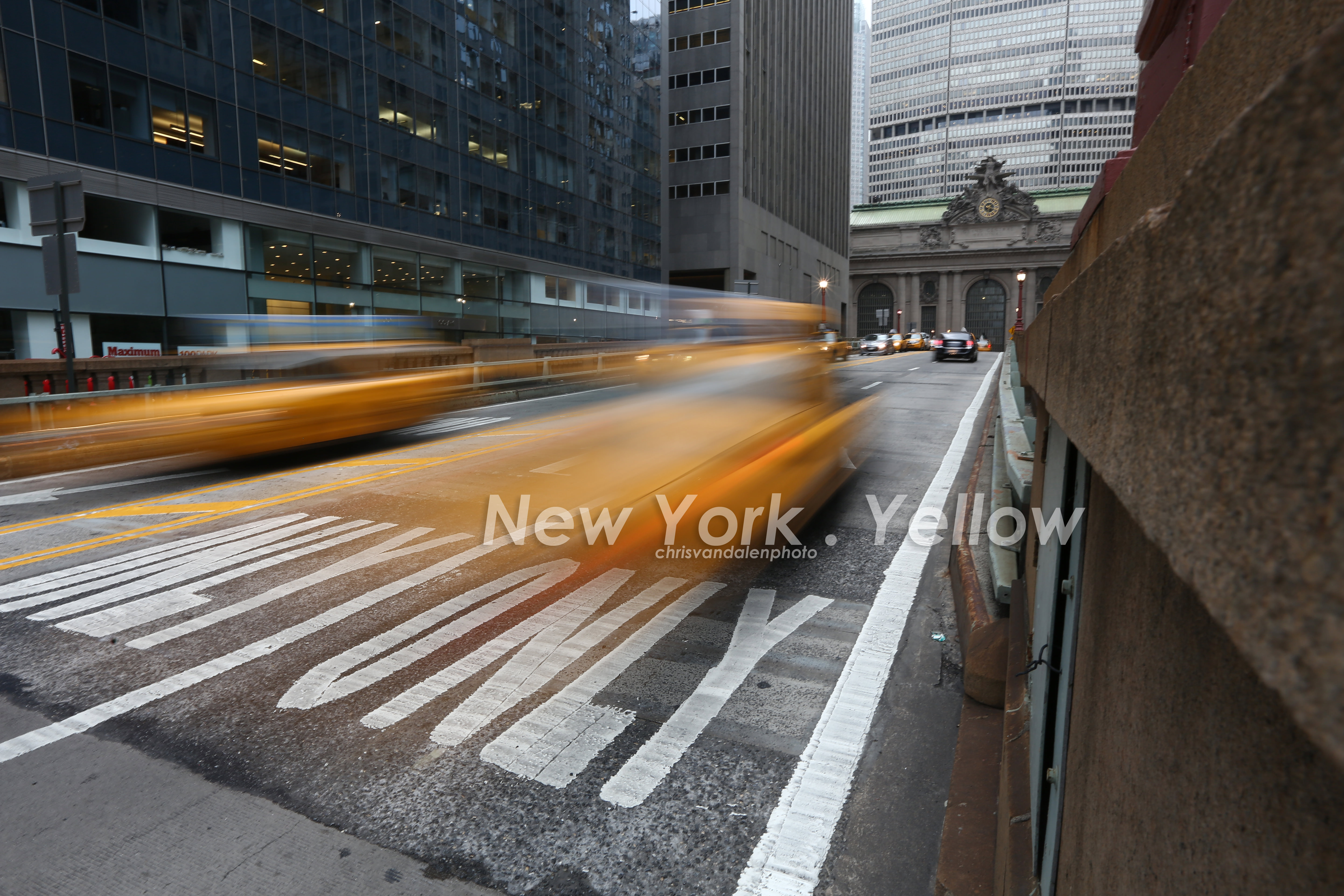 New York, Movement, yellow cab