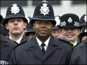 Borough Officers in London in light of Institutional racism term stopping Met reform - report (BBC)