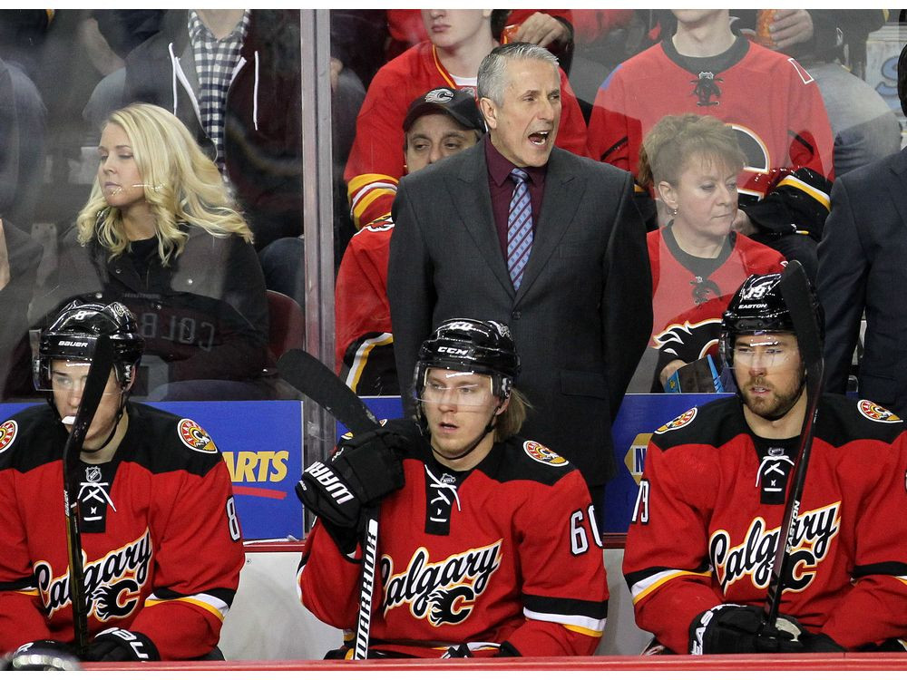 Former Calgary Flames Coach Bob Hartley