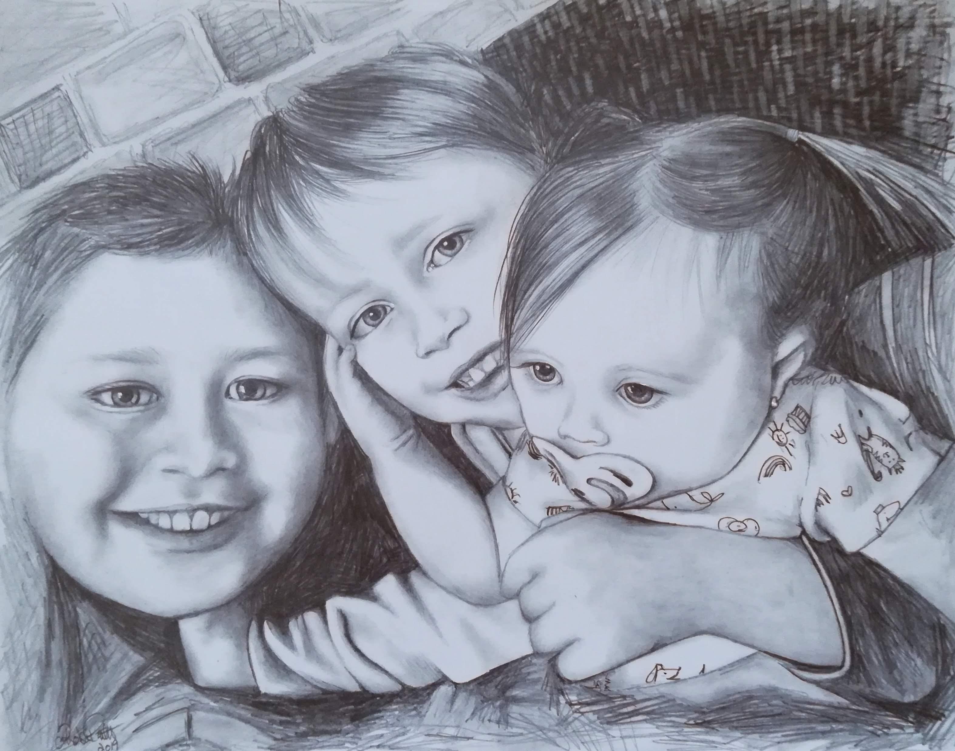 Olivier, Cédric et Rosalie