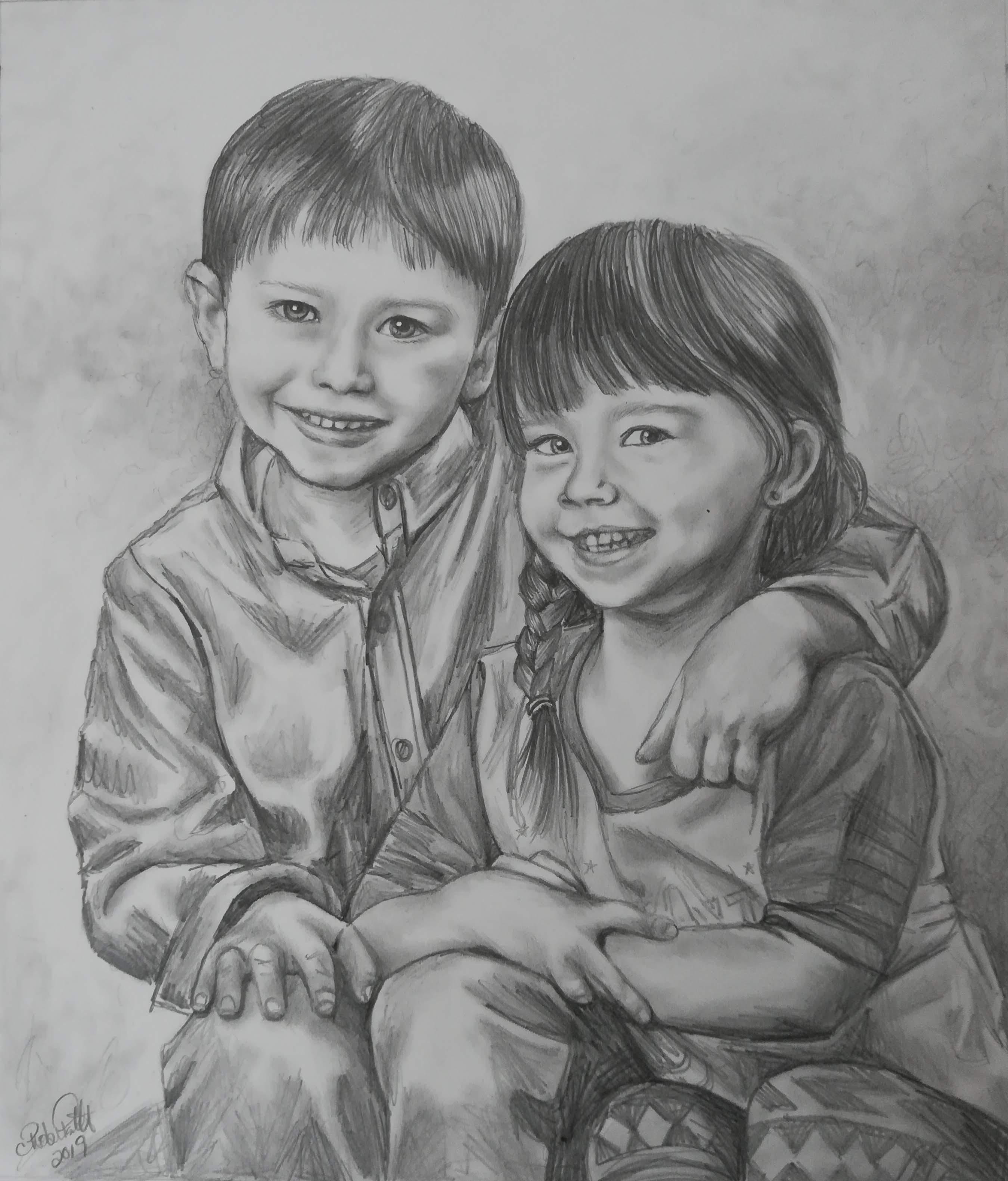 Alexandre et Violet