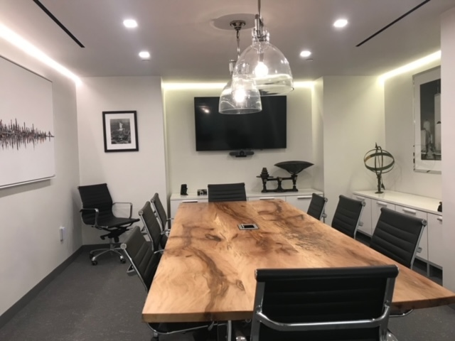 Area Builders General Contractor Board Room