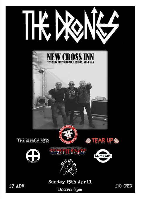 New London gig supporting The Drones!