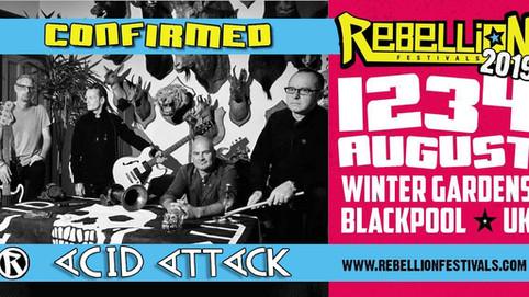 Rebellion Festival!