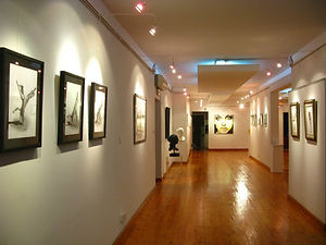 Rouan Art & Frame Gallery Art Space