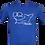 Thumbnail: DQ and the Sharks  -  Men's T-shirt