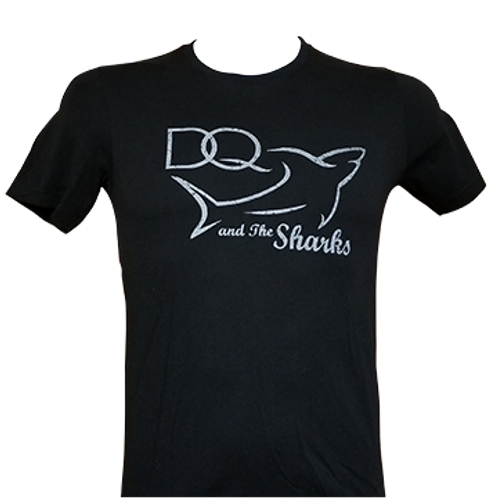 DQ and the Sharks  -  Men's T-shirt