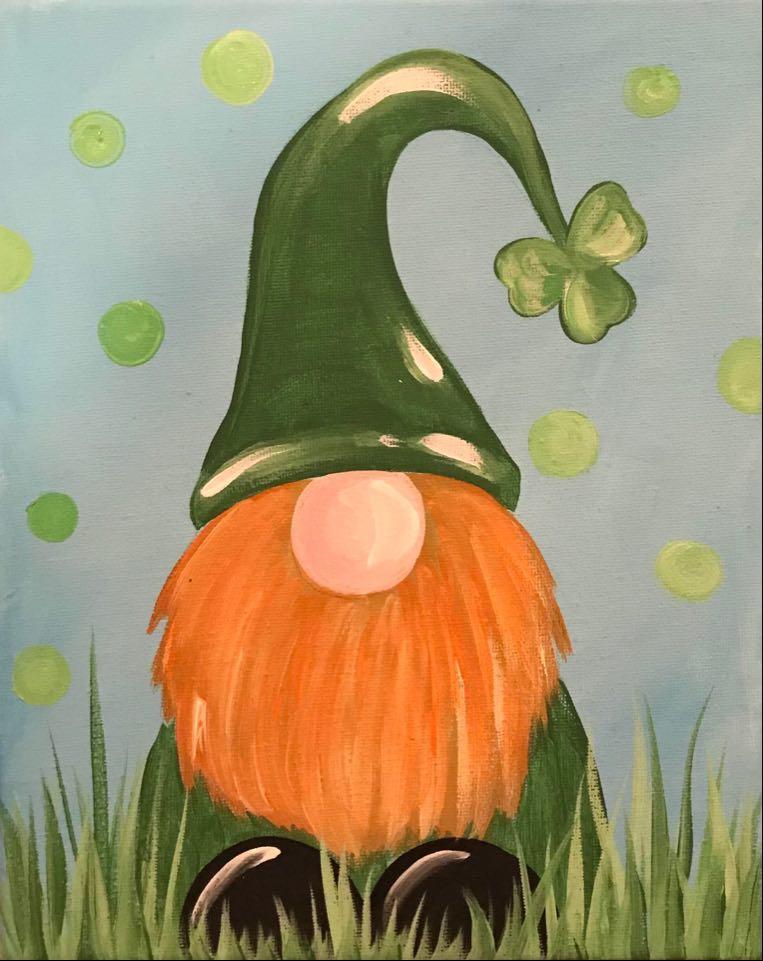 St. Patrick's Kids Paint