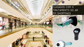 Tratamento do sistema de ar condicionado em Shoppings.