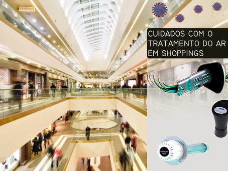 Tratamento do sistema de ar condicionado em Shoppings.