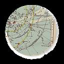 Ronda de corte Mapa