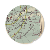 Portion of a Nautical map