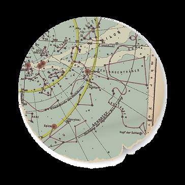 Round Map Cutting