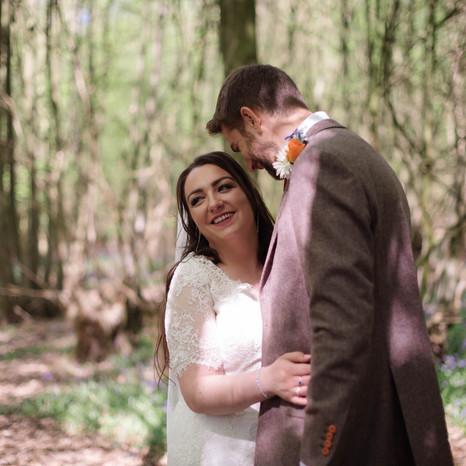 Clare + Adam, Tipi Festival Wedding