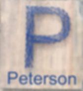 Monogram with family name
