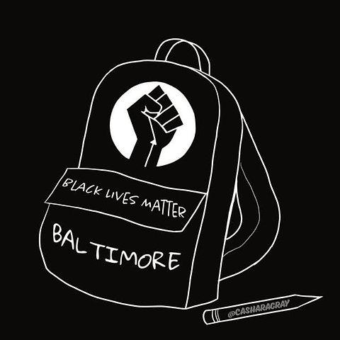 Image result for black lives matter at school baltimore