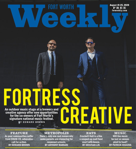 Fortress Creative in the Press