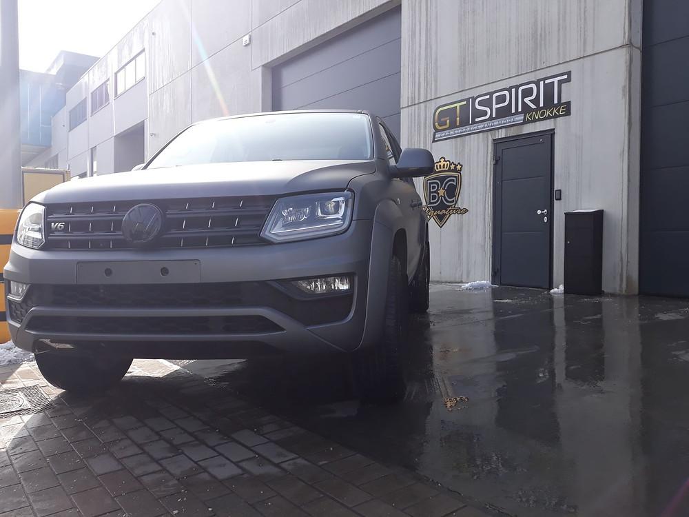 Volkswagen Amarok Matte Grey Metallic van Avery Dennison