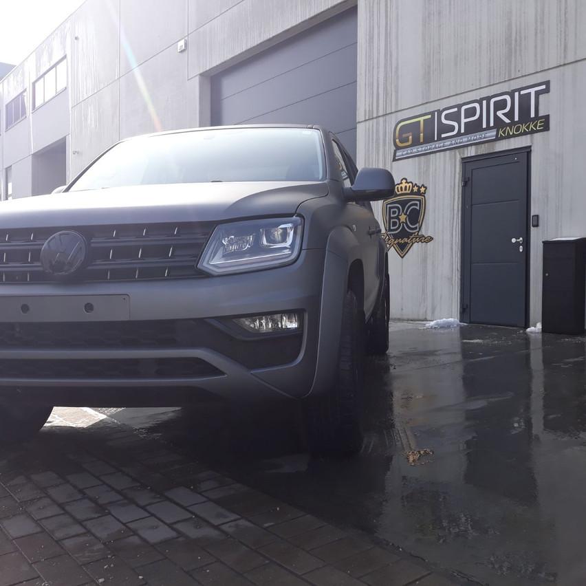 Volkswagen Amarok Matte Grey Met.