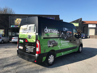 Renault Master - Custom Wrap - Demasy