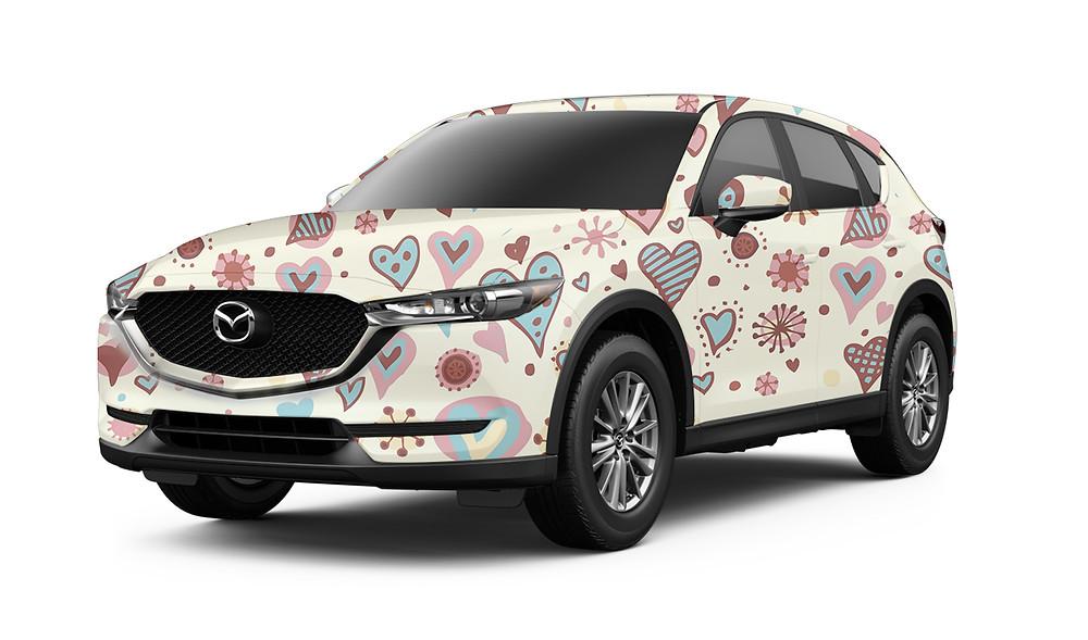 Mazda CX 5 Valentin Design