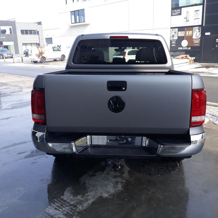 Volkswagen Amarok Matte Grey Met
