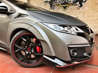 Honda Civic Type R - Gunmetal Matte Metallic
