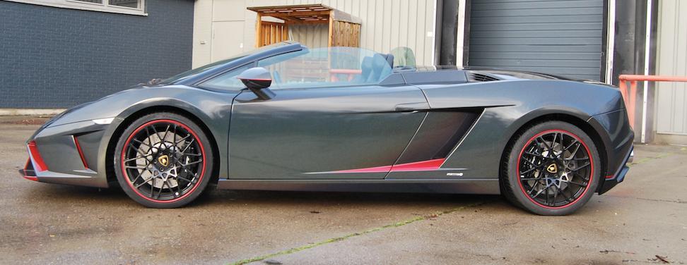 Lamborghini Gallardo Spyder KPMF Morpheus Black Starlight