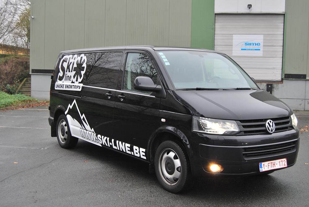 Ski-Line VW transporter custom design