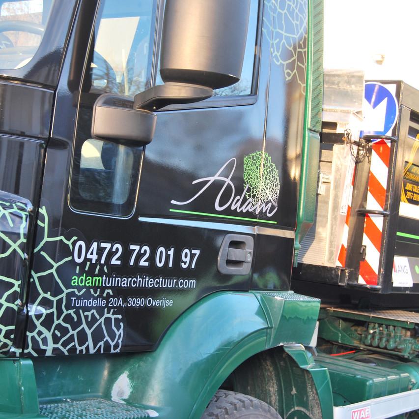 Iveco - Tuinen Adam Publicity Wrap