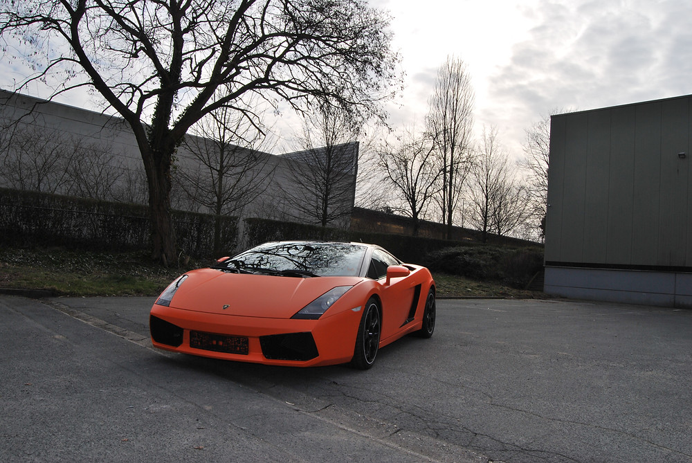 Lamborghini Gallardo Satin Autumn Orange (3M)