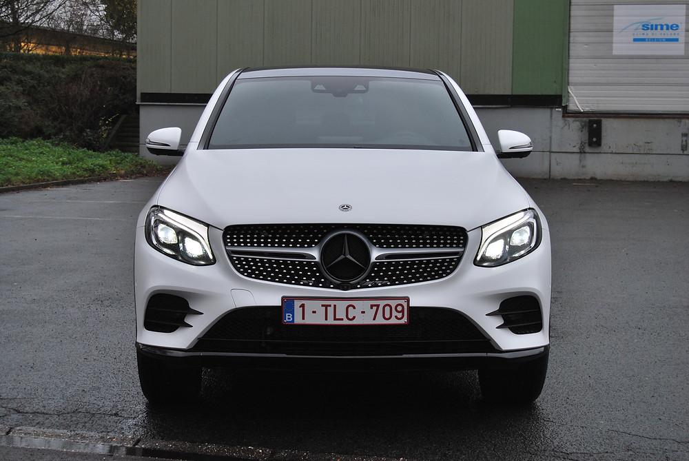 Mercedes GLC Coupé Satin White