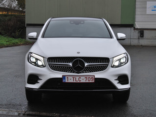 Mercedes - GLC Coupé Satin White