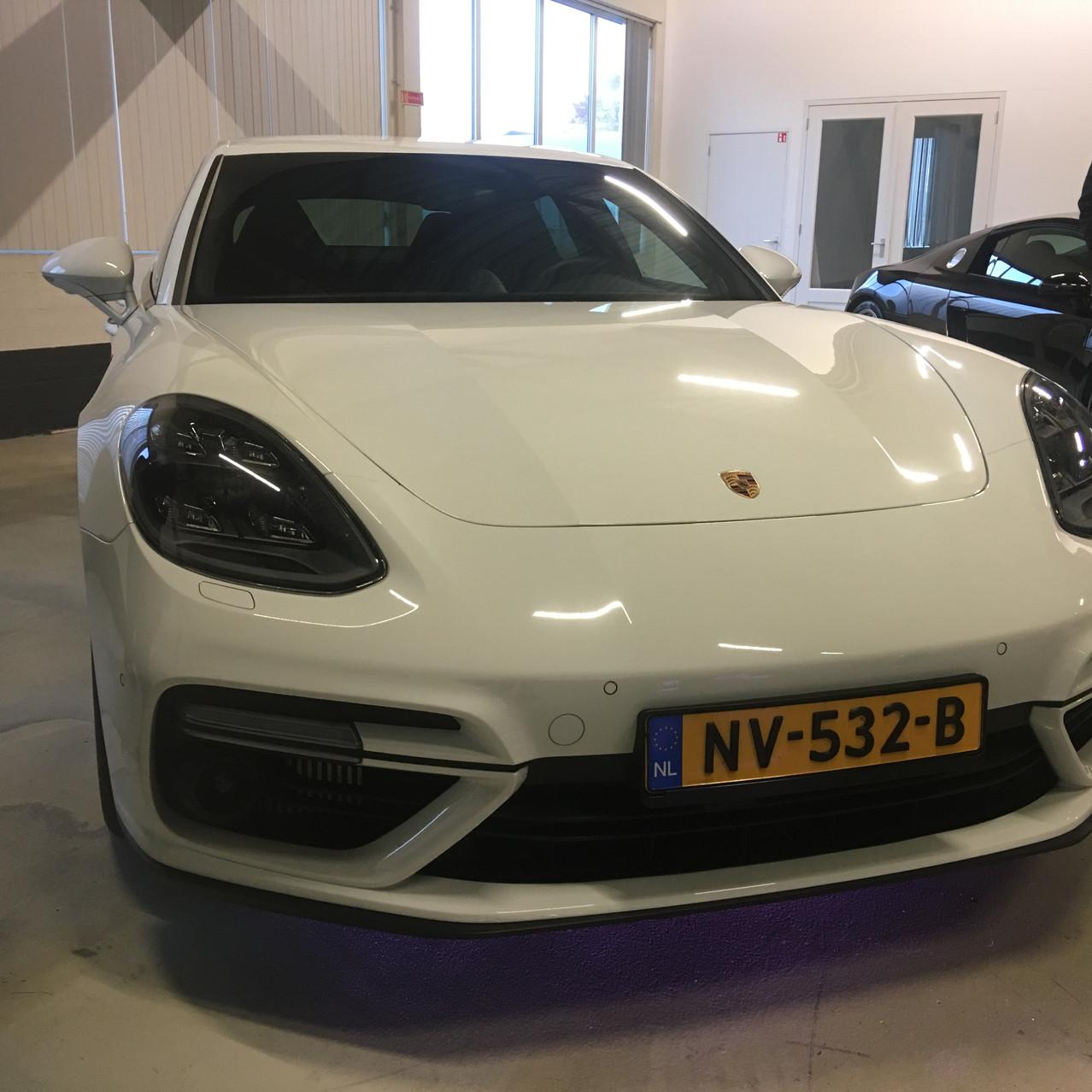 Porsche Panamera met PPF