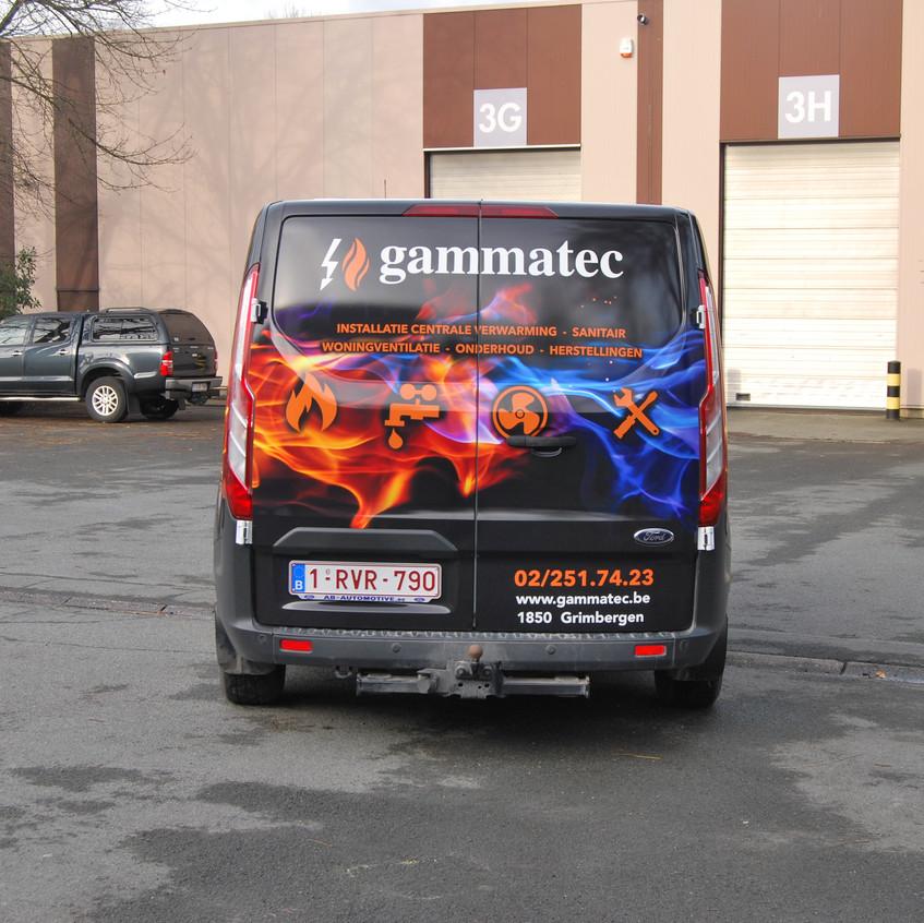 Gammatec Reclame wrap