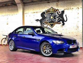 BMW M3 E92 - Raspberry Blue (3M)