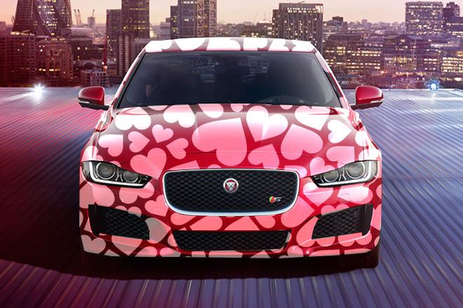 Jaguar XE Valentine Design wrap