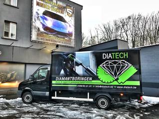 Diatech onderscheidt zich van de rest.  Diatech se diffère du reste.