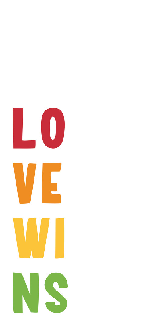 LOVE WINS FREE WALLPAPER