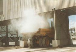 Abattage de poussière