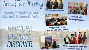 Diss Annual Town Meeting, March 2020