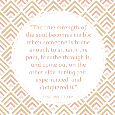 The true strength of the soul becomes vi