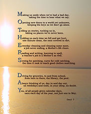 Mothers Day Poem by Daryl T