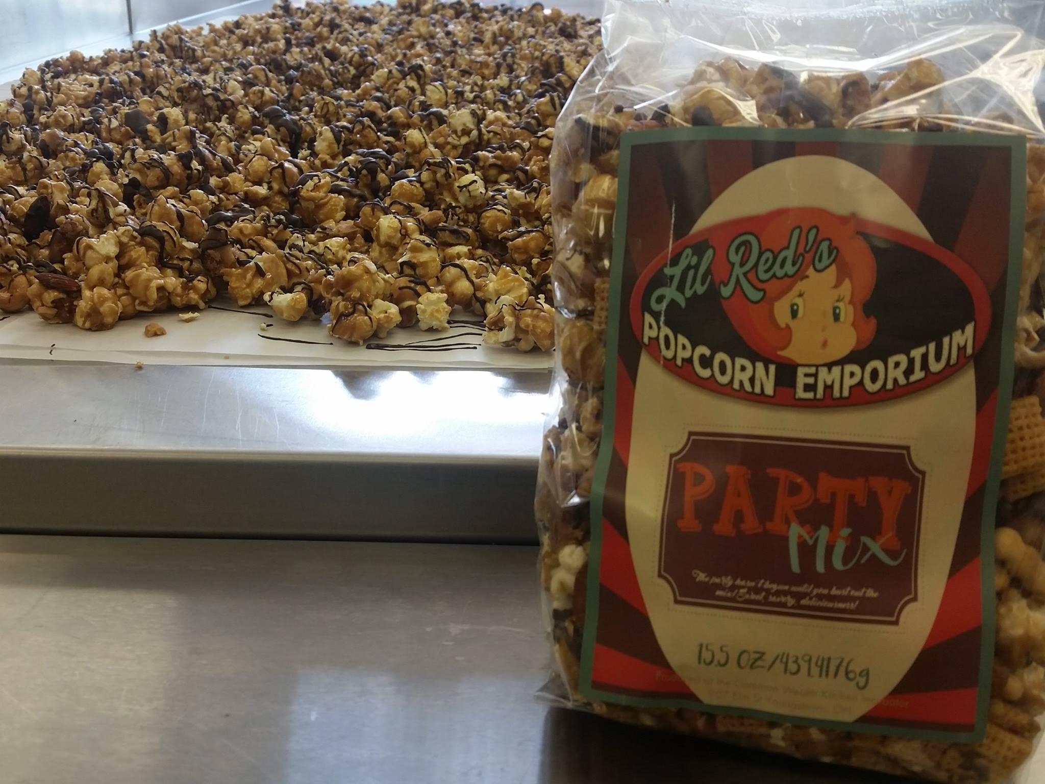 Lil Red's Popcorn