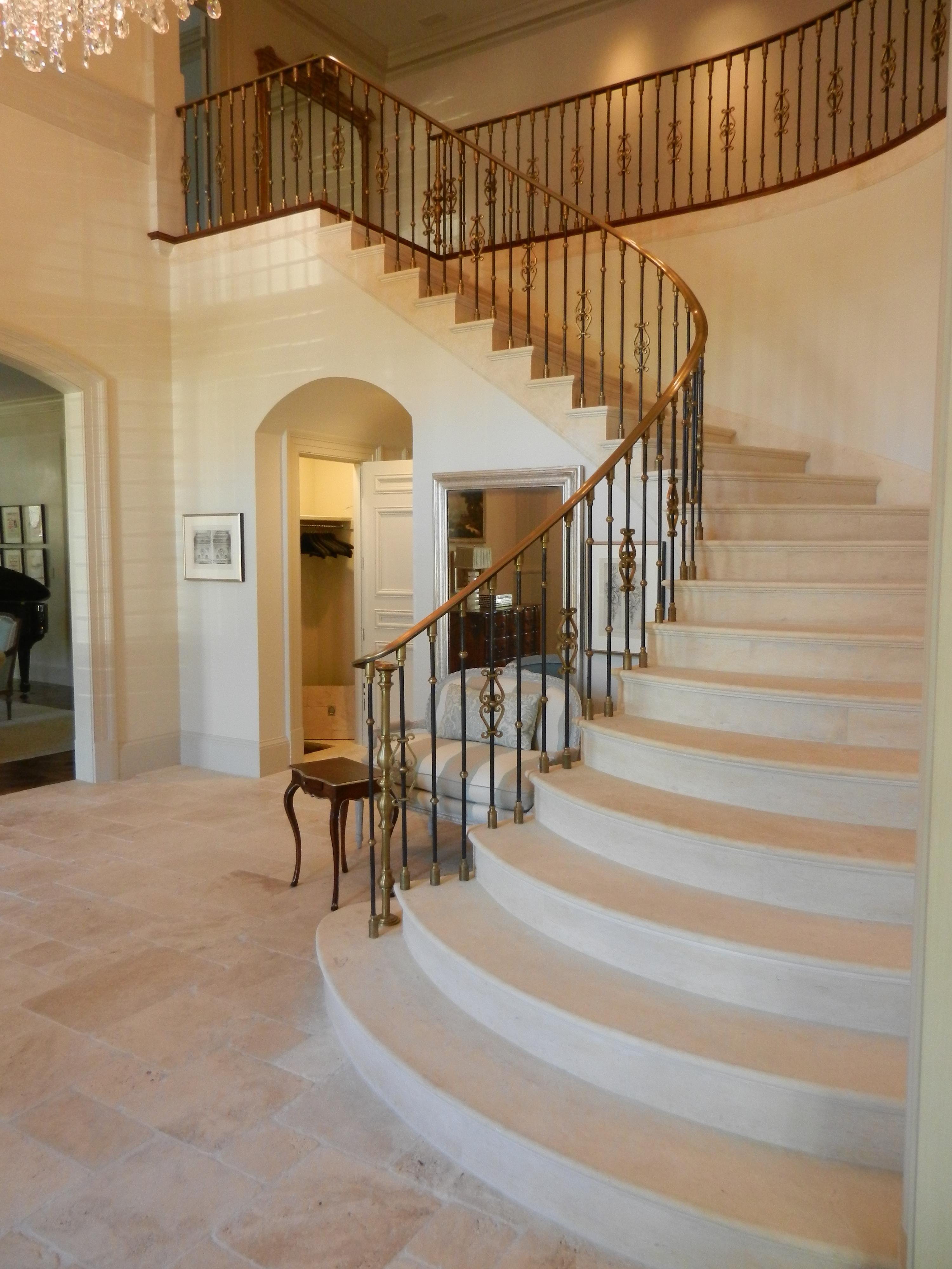 Limestone Stairway