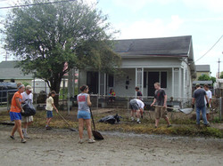 Missions trip to lower 9th ward